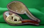 Cased Meerschaum Elephant Pipe