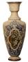 Doulton Vase by Louisa E. Edwards