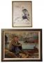 Joe Lee Parrish Oil Painting