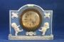 Blue Jasper Rose O'Neal Clock