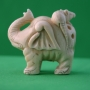 Carved Ivory Netsuke Elephant