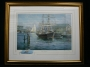 Charles Vickery Print with Painting