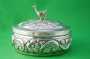Embossed Silver Box