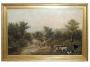 M. Van Buren Oil Painting