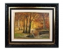 Robert Wood Oil Painting -Fall