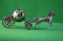 Silver Horse & Carriage Cinderella